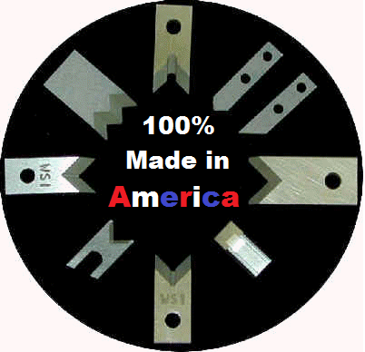 Made in America Wire Cutting and Wire Stripping Blades