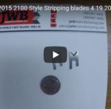 Schleuniger 2015-2100 Stripping blades