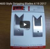 Schleuniger 9600 Stripping Blades