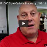 Schleuniger SR1000 Carbide Blades